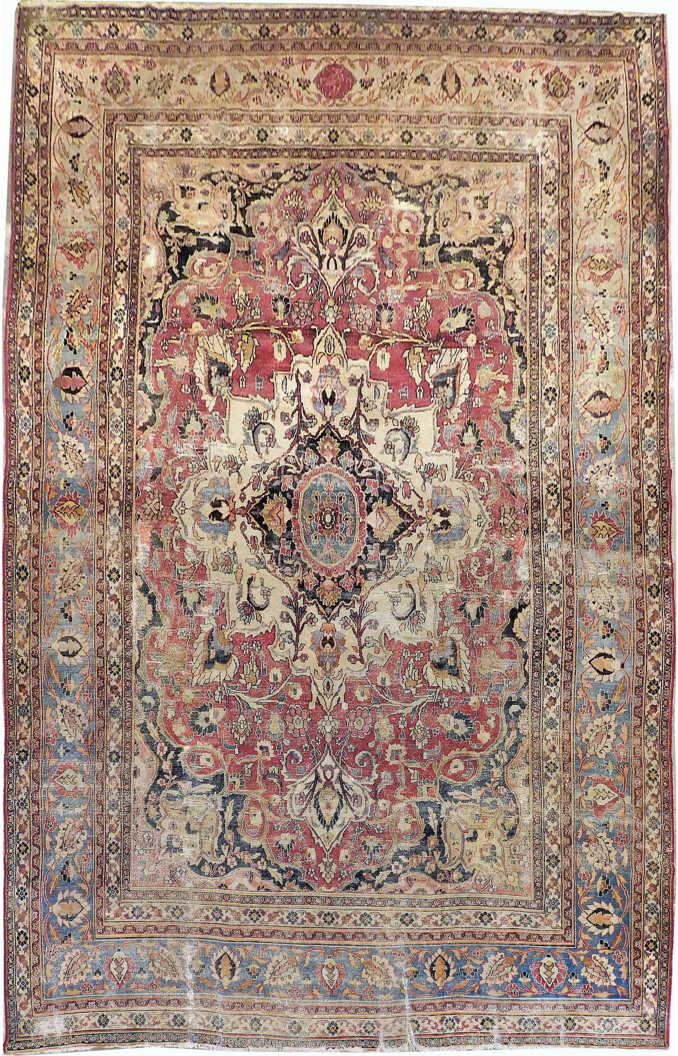 1900s Antique Persian Rug 8 4 X13 In 2020 Antique Persian Rug Persian Rug Rugs
