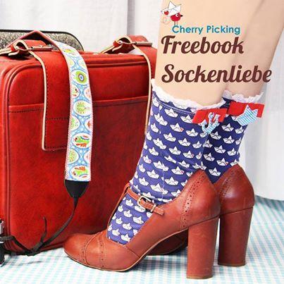 Freebook zum Socken nähen: Sockenliebe von Cherry Picking | pattern ...