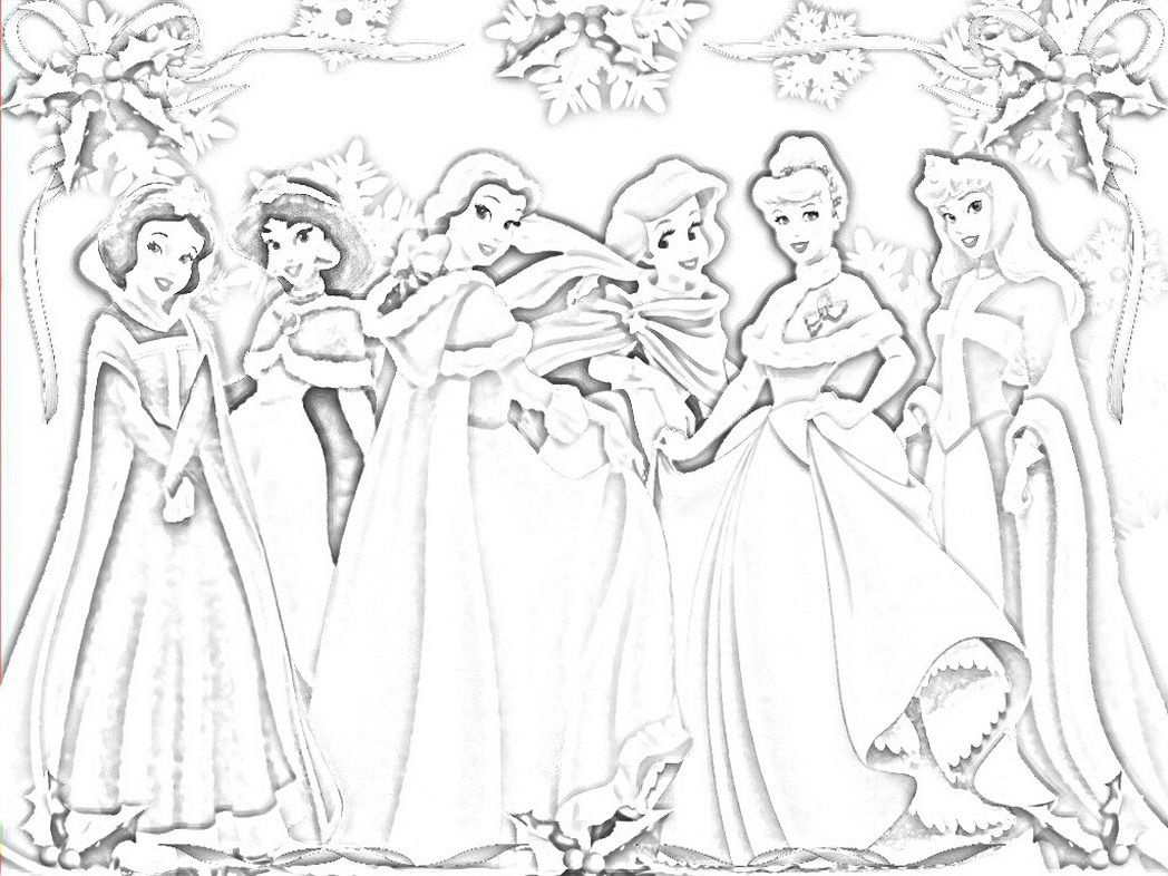 Disney Princess Coloring Pages Printouts Dot Peeps Coloring Pages For Free