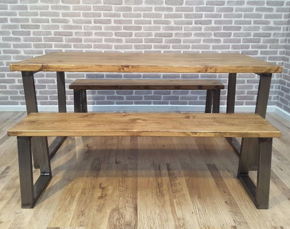 Image result for scaffold board dining table Rustic