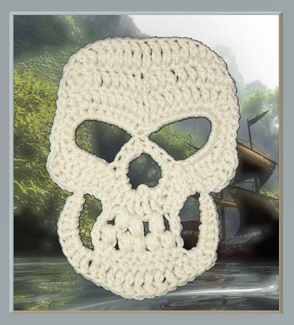 Granny\'s Skull Applique & 10\