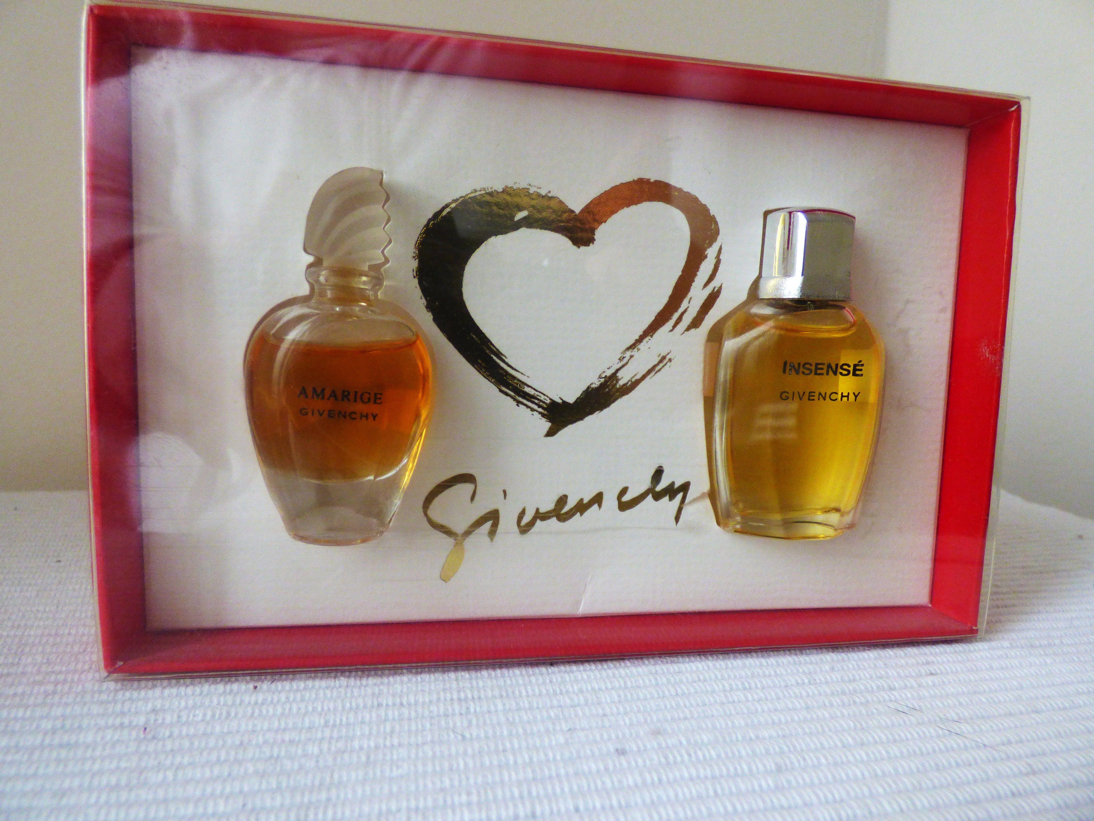 Coffret De Miniatures De Givenchy Pour La St Valentin Amarige Pour