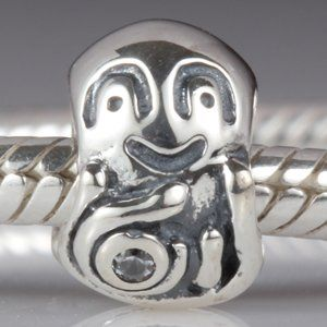 Smile Octopus Authentic Sterling Silver Charm Fits Pandora Charm Chamilia... - http://bit.ly/1jRsPeZ