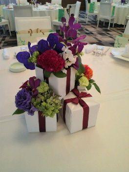 「 ギフトボックス装花まとめ☆ 」の画像|ぐうたらOLSallyがワーママしながらマイホームの頭金を貯めるブログ|Ameba (アメーバ)