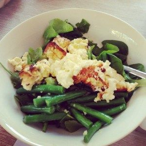 The Foodie Files: Baked Fetta And Green Bean Salad | Not Just a Mummy