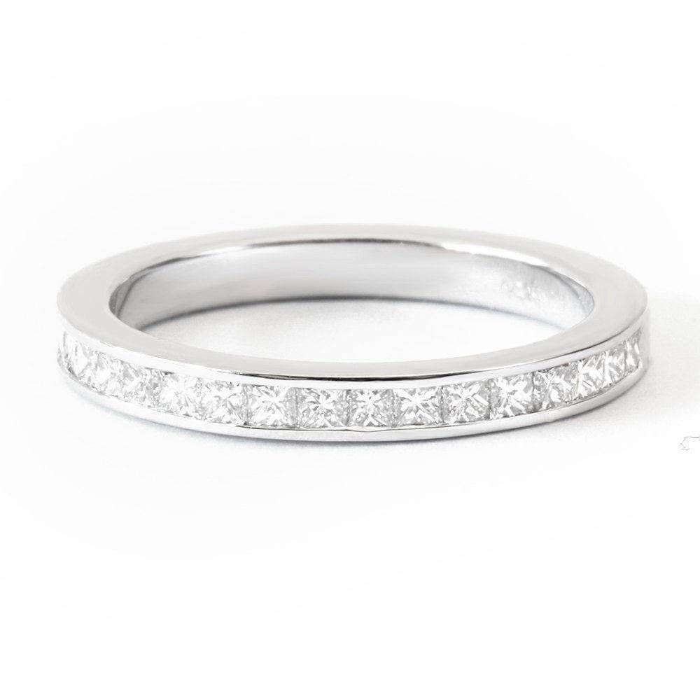 Princess Square Diamonds Channel Setting Unique Wedding Band Diamond Jewelry Gold Sillyshiny Uniquerings Rings Sillyshinydiamonds: Simple Unique Wedding Bands For Women At Websimilar.org