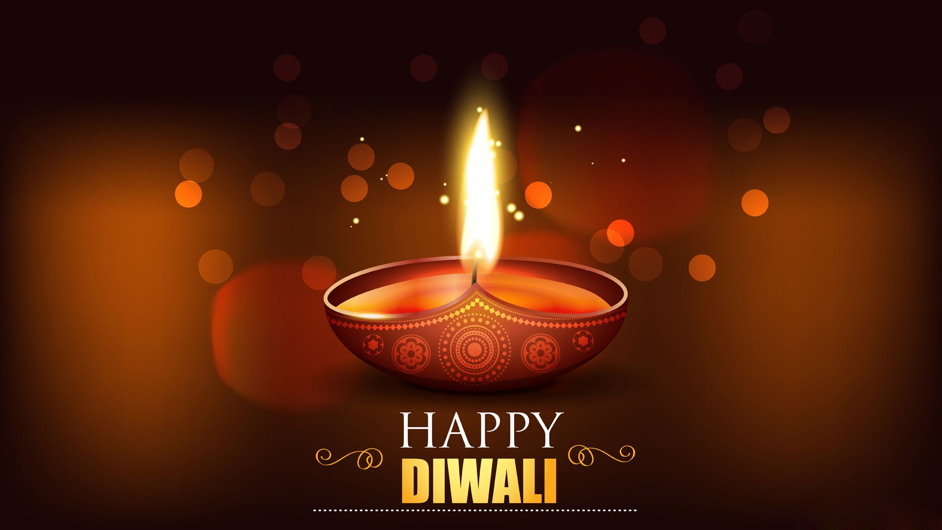 Happy Diwali Diya HD Wallpaper Happy Diwali, HD, Wallpaper
