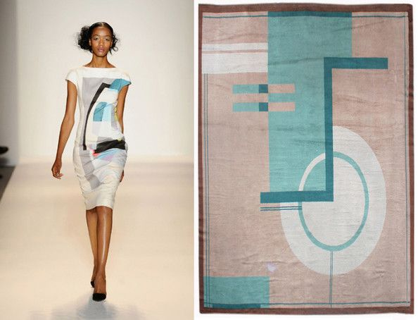 Lonny Magazine: Wear Our Rugs