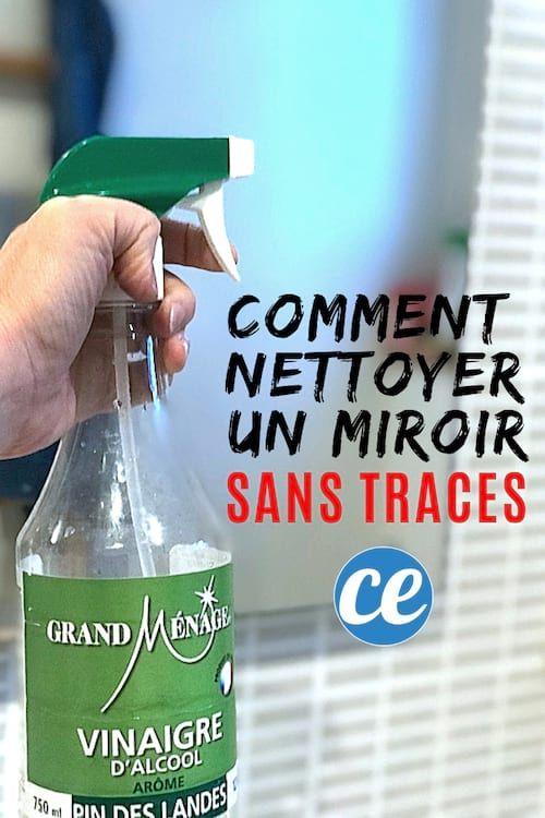 Miroir Tres Sale L Astuce Magique Pour Le Nettoyer Sans Laisser De