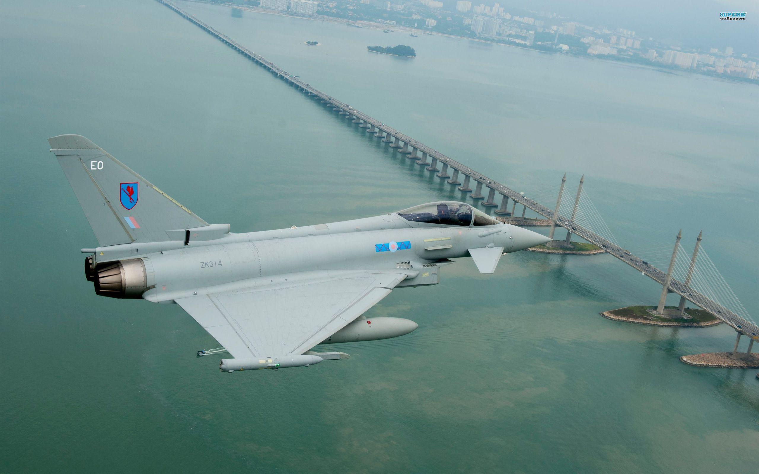 eurofighter typhoon wallpaper | military aircraft | pinterest