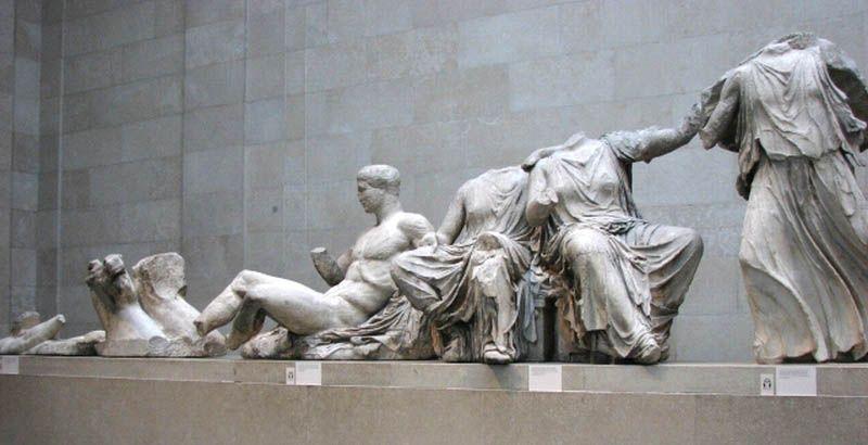 The British Museum Traveling Classroom Elgin Marbles British Museum Parthenon