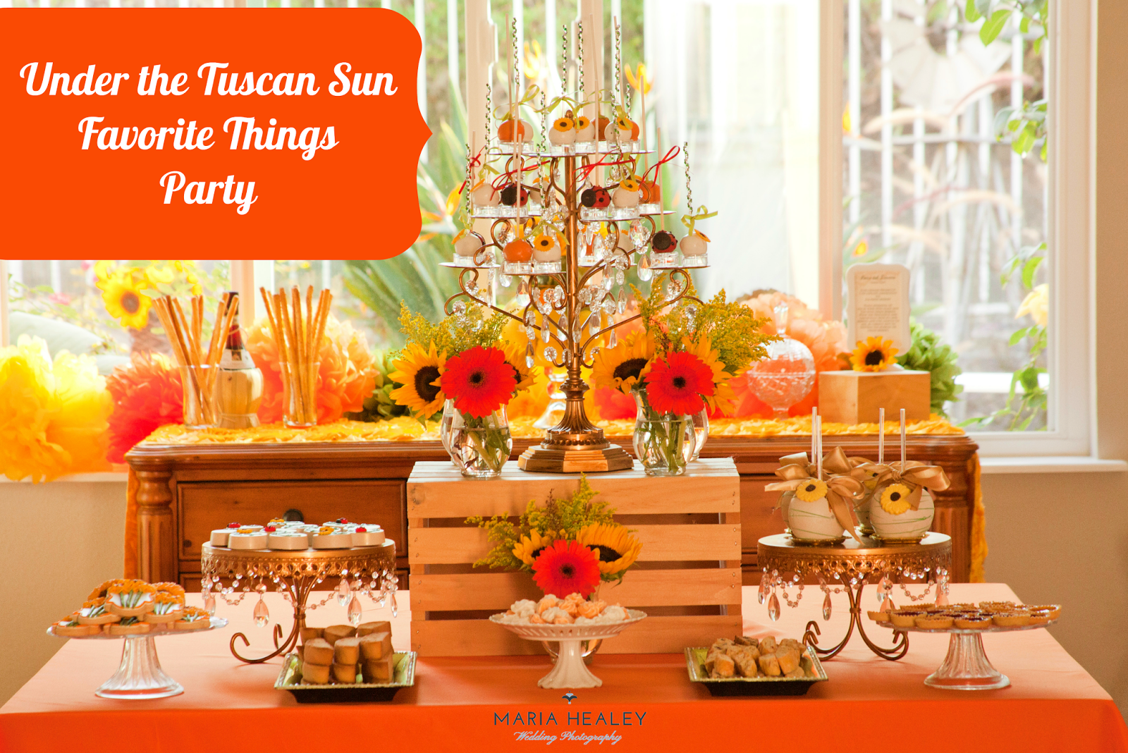In Style Party Favors: Under The Tuscan Sun Inspired Party {Made By A Princess