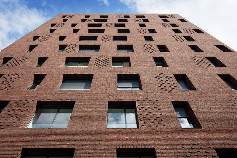38 Social Housing Units | Avenier Cornejo Architectes #social #housing #façade #bricks