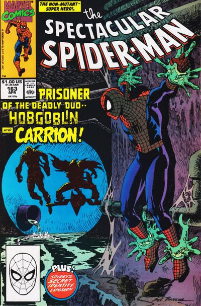 The Spectacular Spider-Man April 1990 #163 [direct]