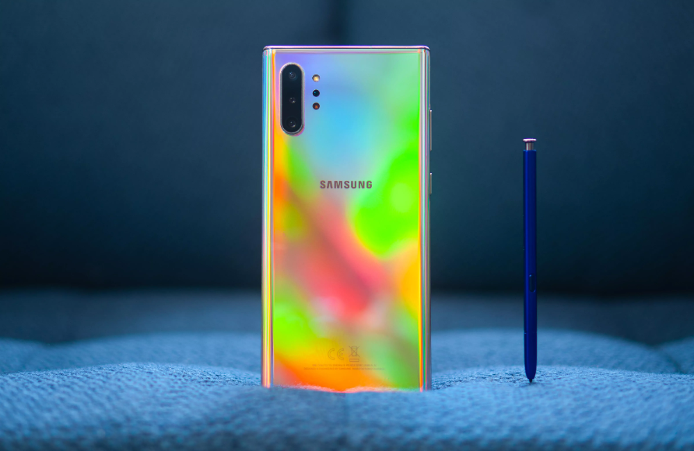 Samsung Galaxy Note 10 Plus Aura Glow Youtube 4
