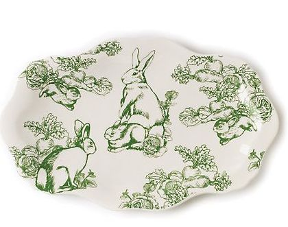 toile bunny dishes