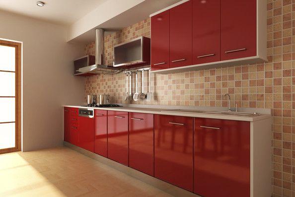 Kitchen Ideas With Red Tiles Modern Kitchen Backsplash Kitchen Backsplash Images Kitchen Design