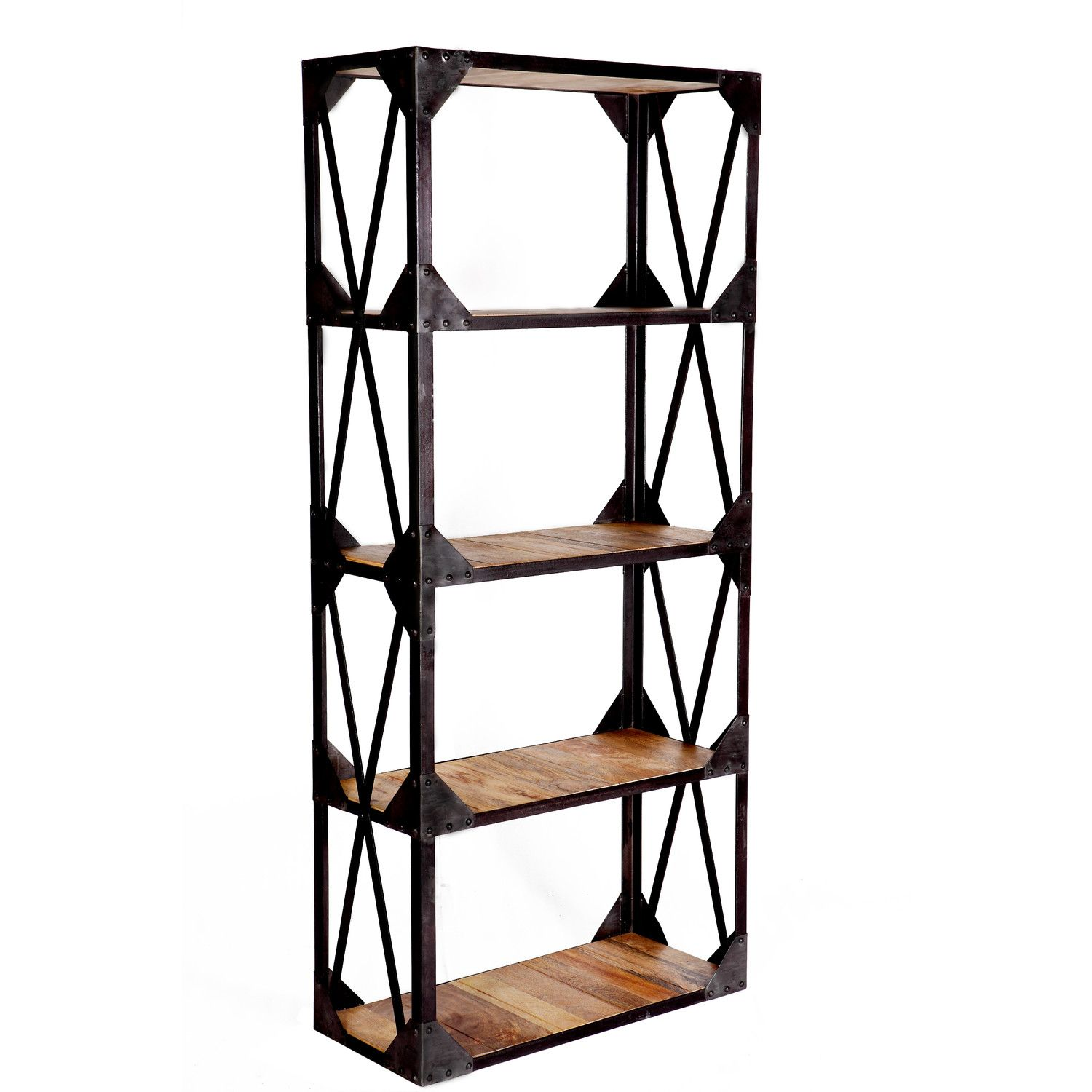 Prestington Granary Reclaimed Tall Wide 180cm Etagere Extension  # Etagere Cache Cable