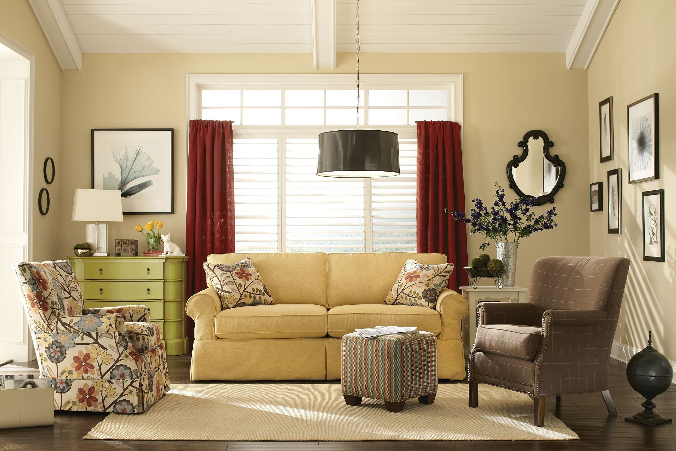 Craftmaster Living Room Sofa 922850 (Sleeper also available ...