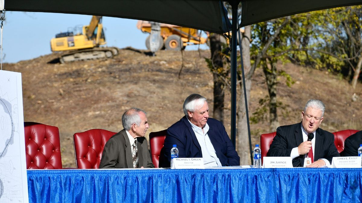Gov. Justice attends groundbreaking ceremony for expansion