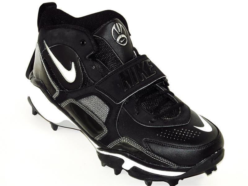 10ad0d15e7c Nike Zoom Air Code Pro Shark Turf Football Cleats Size 12W Black  Nike   MoldedTurfFootballCleats