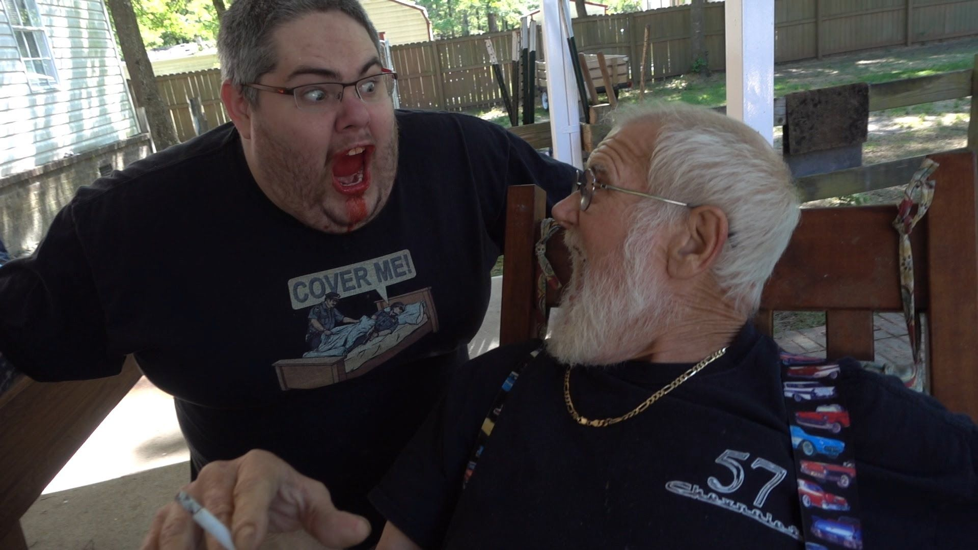 Grandpa Loves Pickleboy Prank Aftermath Angry Grandpa