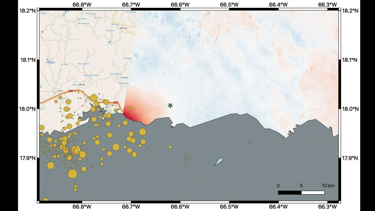Earthquakes In Puerto Rico Have Changed The Landscape Satellites