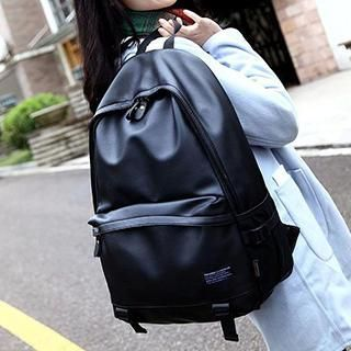 Buy Top Seeka Faux Leather Backpack at YesStyle.com! Quality ...