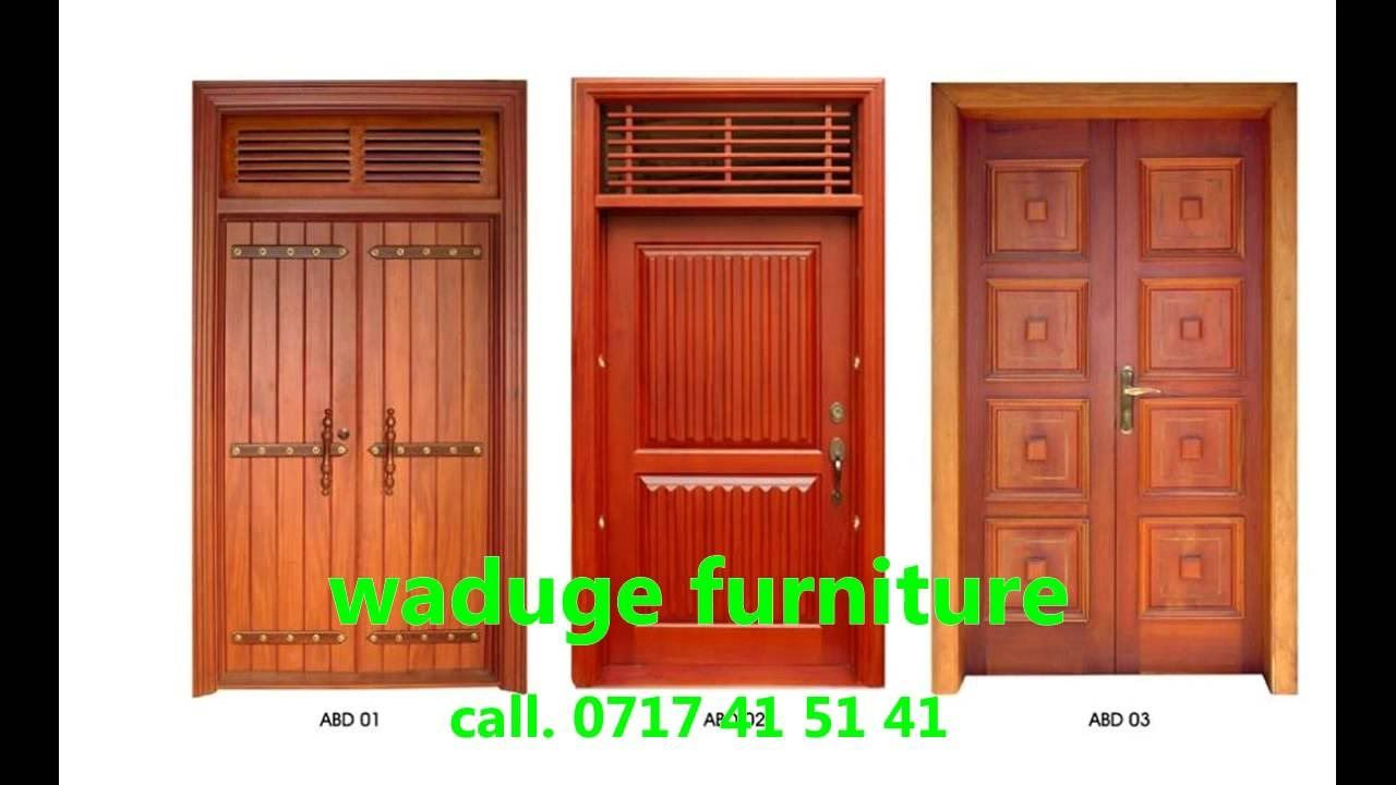 Image Result For Modern Wooden Door Designs For Home In Sri
