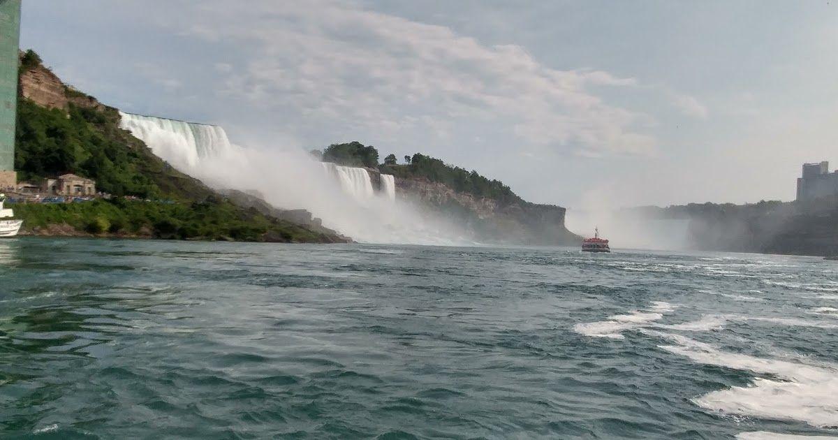 هنــــــا كنـــــــدا جولة في شلالات نياجرا Natural Landmarks Landmarks Niagara Falls