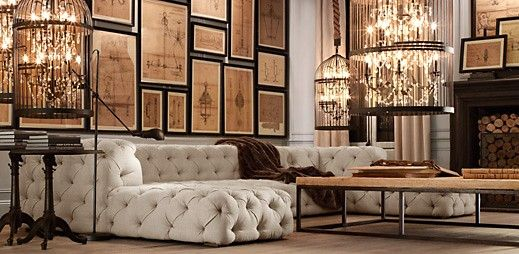 Restoration Hardware Decor