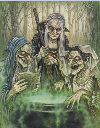 The existence of witches is a staple of folklore. They are generally displayed as demonic and a kin to the devil. There are many folktales that have been collected that deal with the taboo of eating the food of a witch. Eating the food of a witch could bring about various negative consequences or experiences.