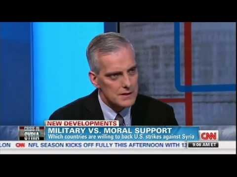 McDonough Admits It's a Coalition of One....no country will help us go into Syria  9/8....video