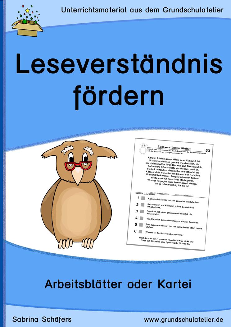 Unterrichtsmaterial zur Leseförderung: 60 Kopiervorlagen zum ...