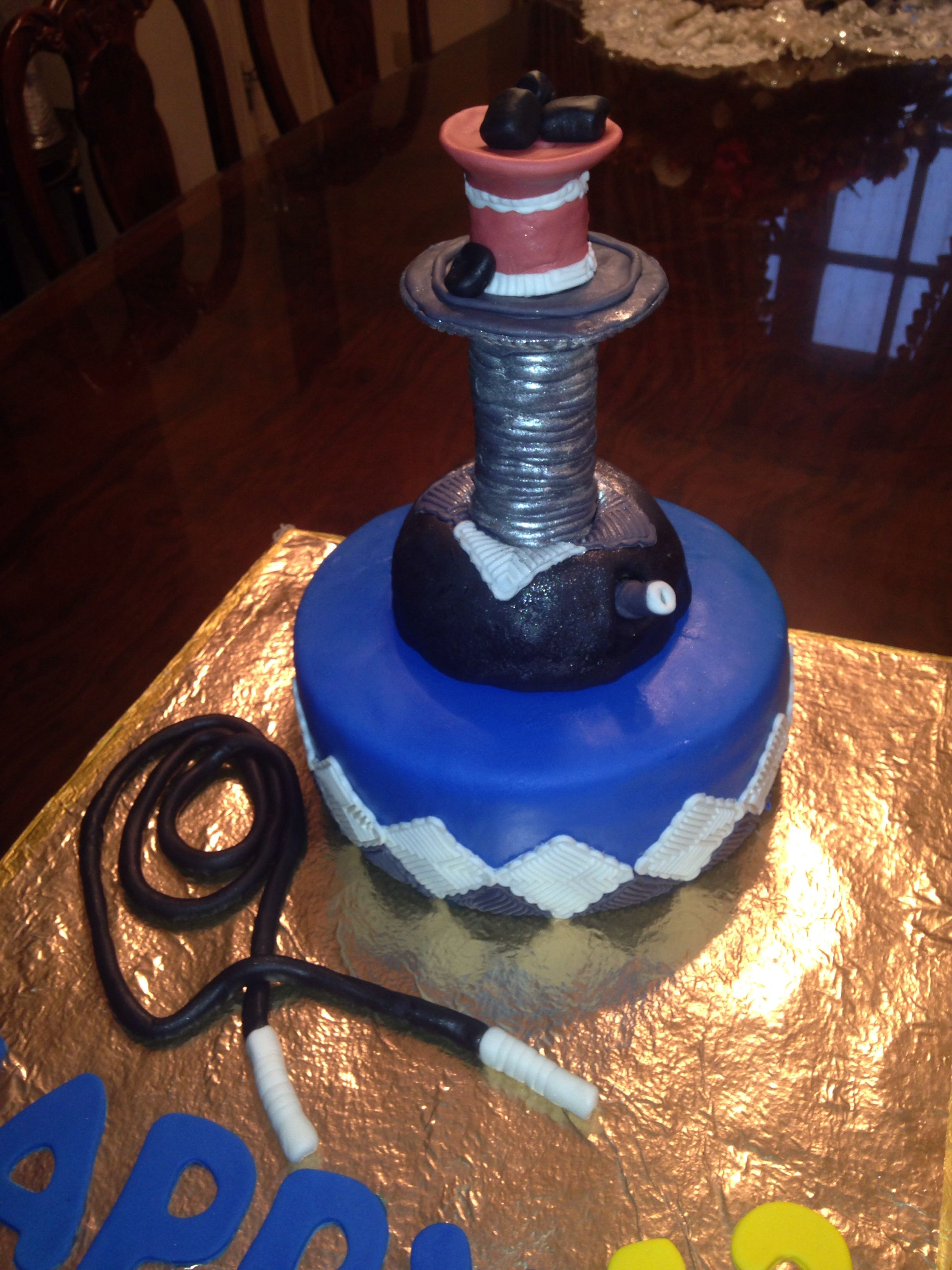 Shisha cake (hubbly bubbly)   That was challenging! | My