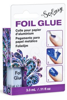 foil glue  for use with our decorative nail foils
