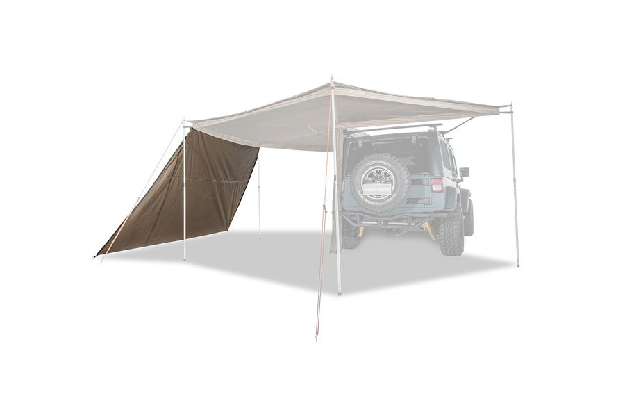 Rhino Rack Batwing Tapered Zip Extension Tent Awning Bat Wings Telescopic Pole
