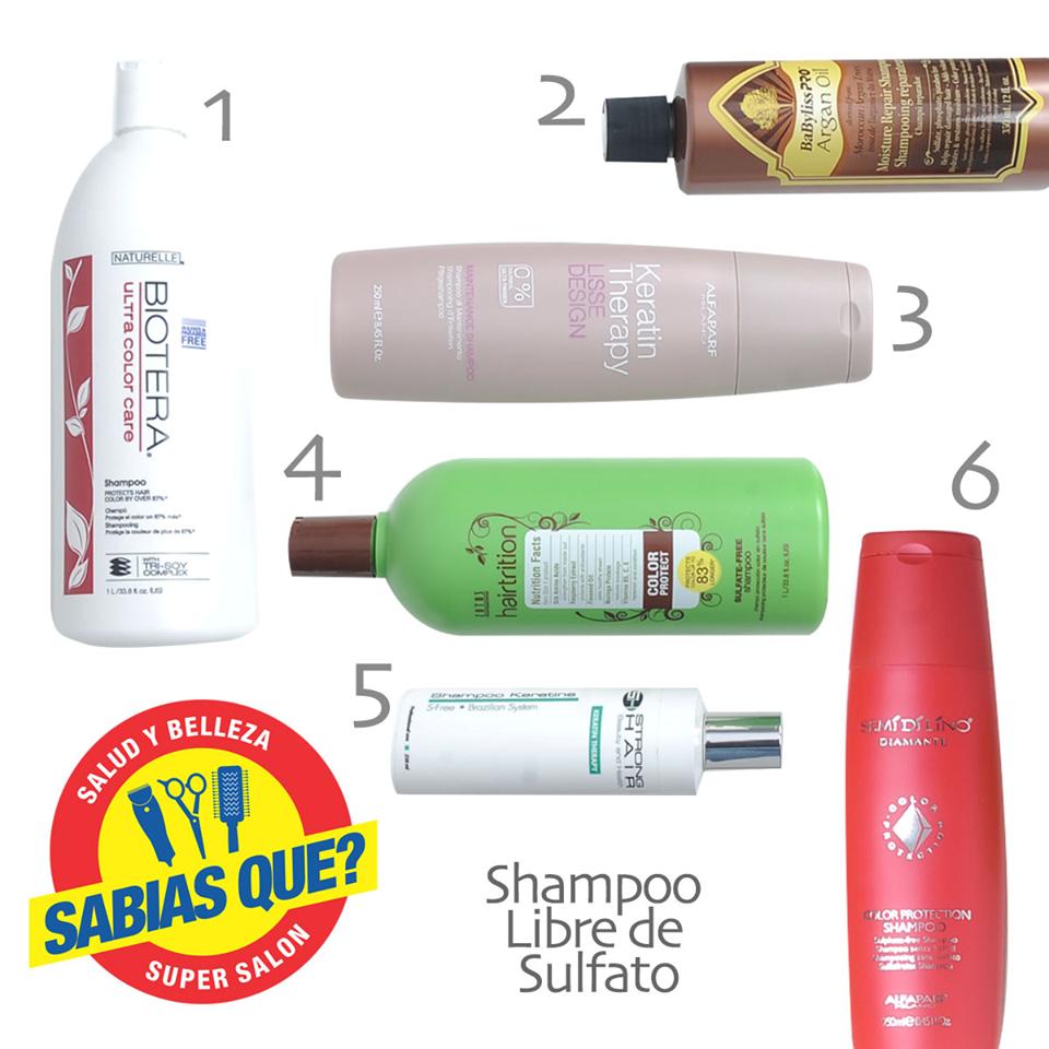 Gran Variedad De Shampoo Libres De Sulfatos De Venta En