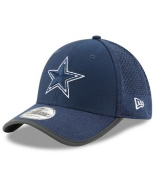 New Era Dallas Cowboys Training 39THIRTY Cap - Blue L XL  236c42a0a
