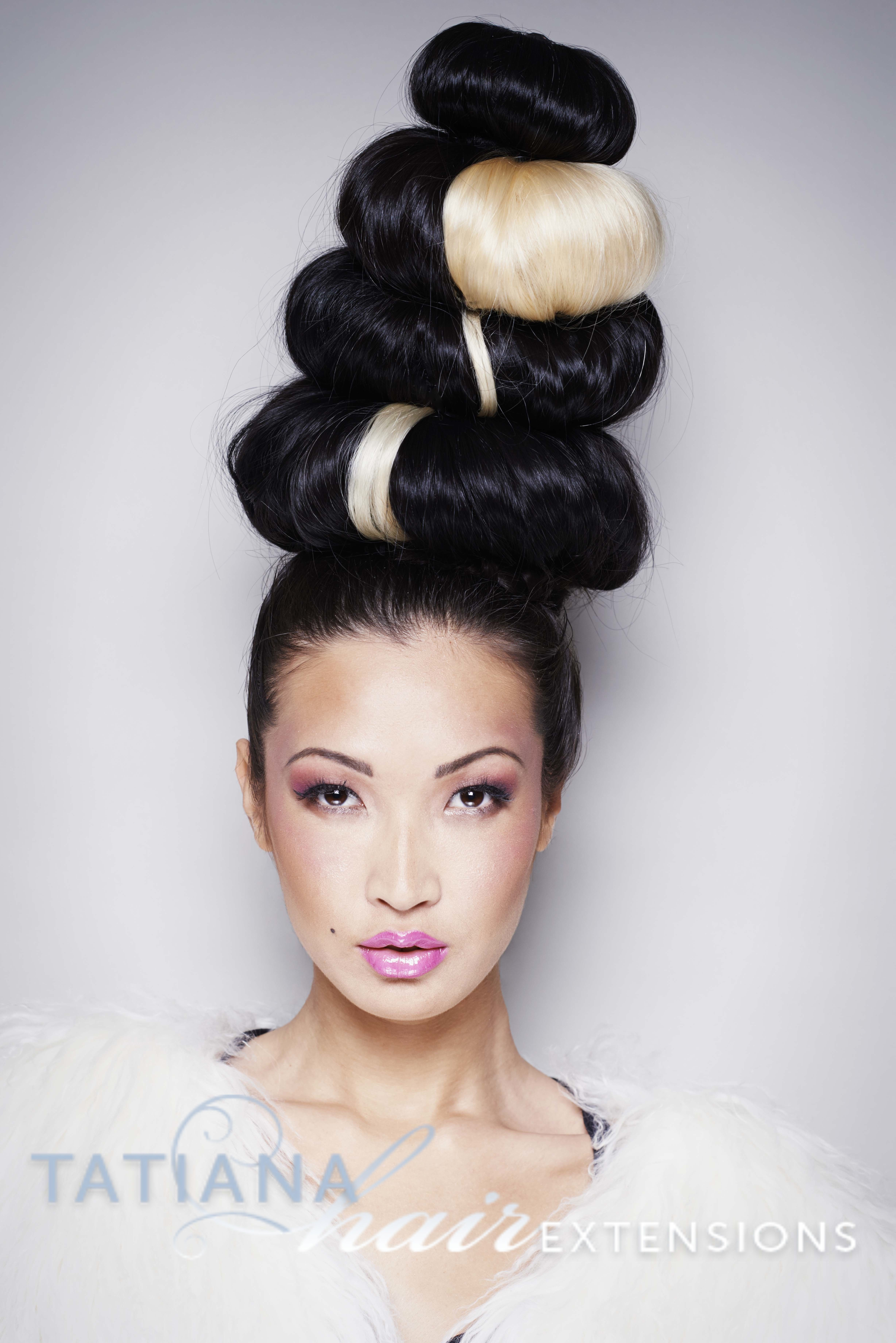 avant garde hair. hairstyle byn#tatianahairextensions using hair