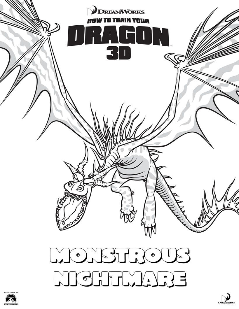 How To Train Your Dragon Coloring Page Youngandtae Com Dragon Coloring Page How Train Your Dragon How To Train Your Dragon