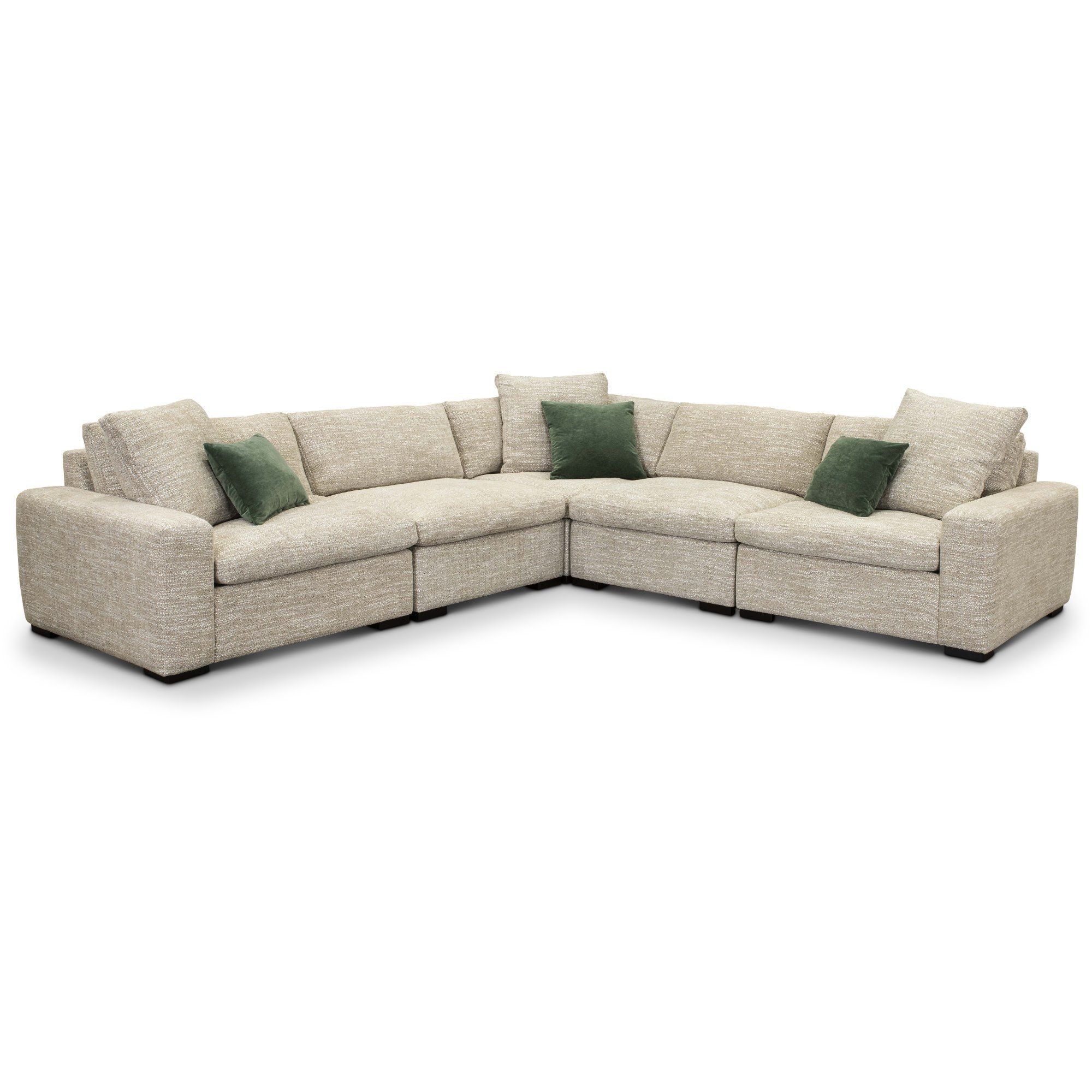 Light Gray 5 Piece Sectional Sofa Naima Sectional Sofa Sofa
