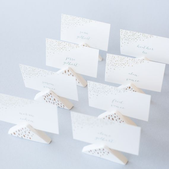 Diy Wedding Air Dry Clay Place Card Holders By Jessigilbert For Julep