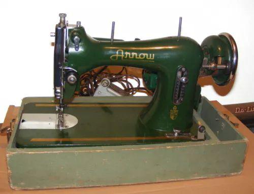Rare Vintage Toyota Arrow Green Sewing Machine Singer 40 Clone Enchanting Arrow Sewing Machine