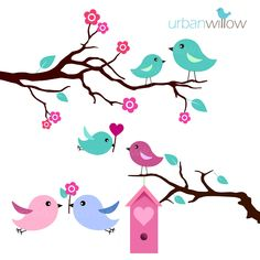 Vintage Love Birds Png Transparent Vintage Love Birds Png Images Pluspng Bird Clipart Bird Graphic Bird Drawings