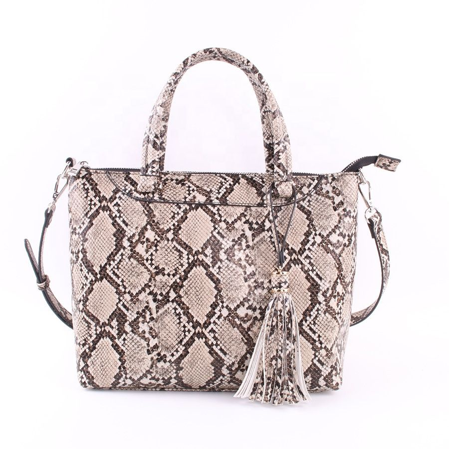 Pu Leather Handbags Whole With Tassel Fs0339
