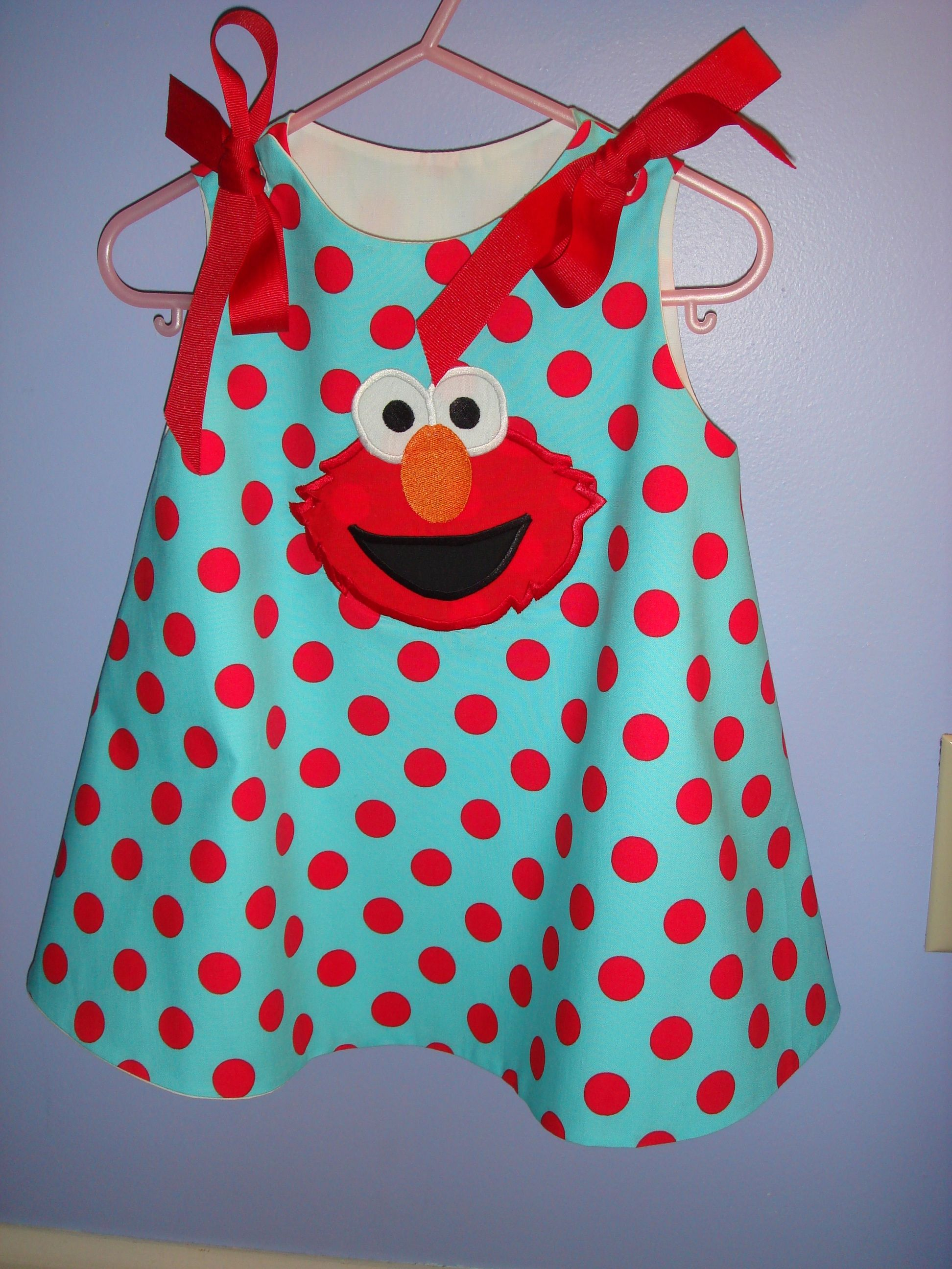 Elmo Jumper For Cs 2 Year Old Birthday Party