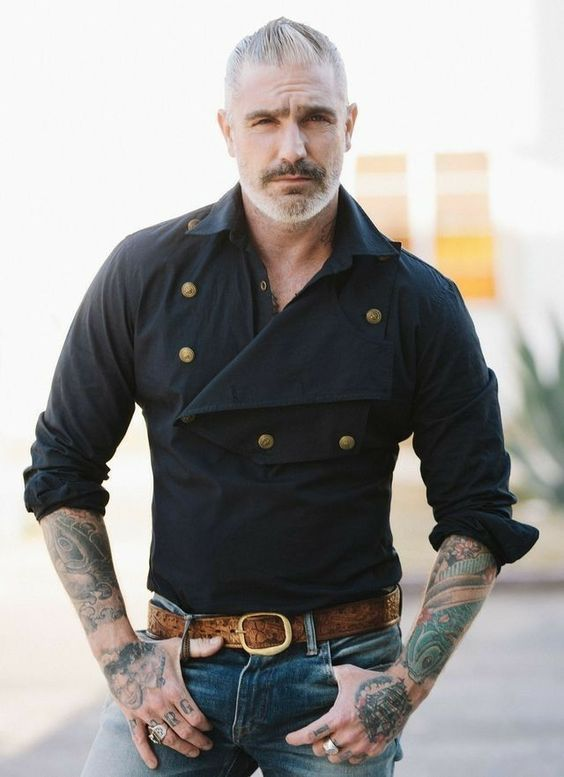 40 Mens Urban Fashion For You: 40 Most Demanding Older Men Hairstyles