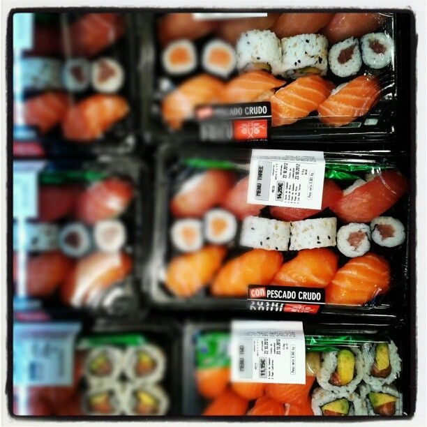 Thefoodmirror S Photo Take Away Sushi In Carrefour