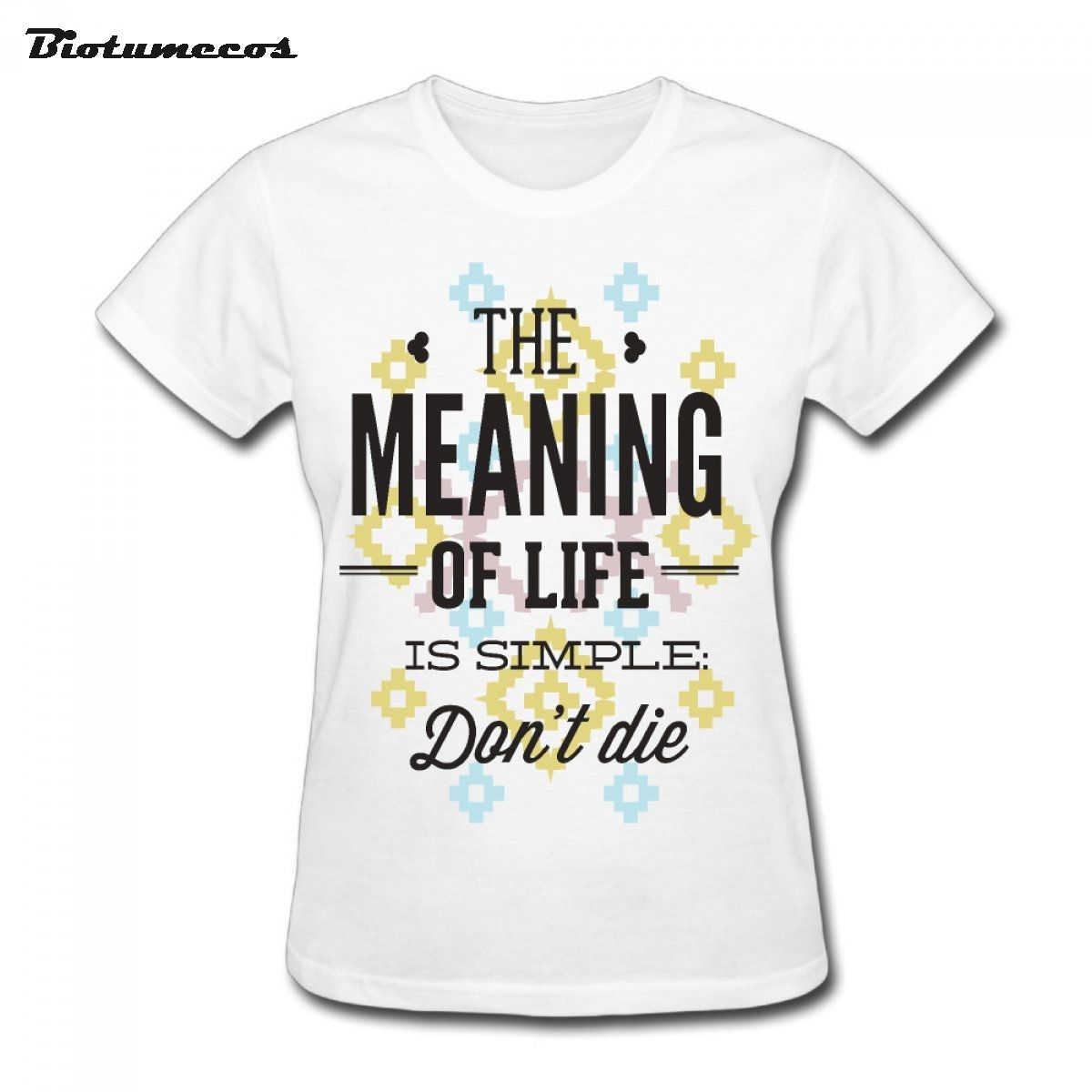 The Meaning Of Life Is Simple Letter Print  Summer